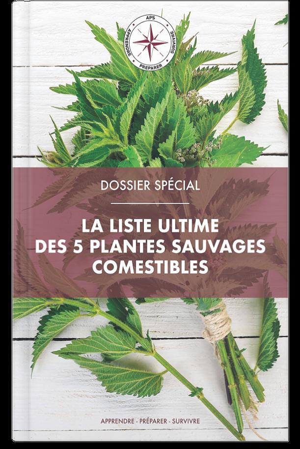 Plantes sauvages comestibles guide liste